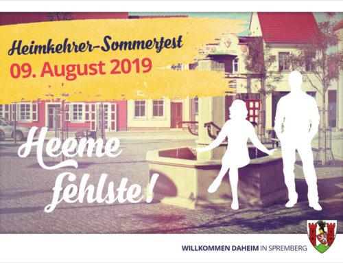 Heeme fehlste! – Das Sommerfest für Rückkehrer