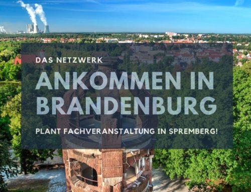 """Fachveranstaltung des Netzwerkes """"Ankommen in Brandenburg"""" findet am 11.11.2021 in Spremberg statt"""