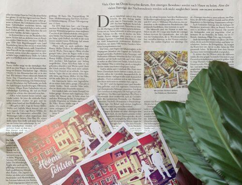 """Heeme Fehlste in der Zeitung """"Die Zeit"""""""